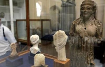 Egypt's Antiquities Minister Mohamed Ibrahim said Saturday that to date authorities have recovered 216 archaeological items of the more than 1,000 that were stolen from a museum in Minya Governorate during the recent disturbances.   The Malawi Museum [Credit: EFE] Still missing, according to the minister's note, are 873 antiquities from the Malawi Museum, which was sacked by suspected extremists two weeks ago amid clashes between supporters of ousted President Mohammed Morsi and security…
