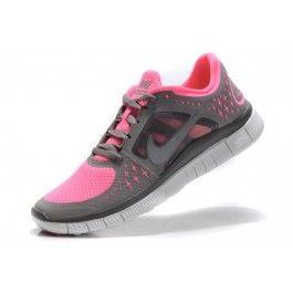 Nike Free Run+ 3 Damesko Grå Rosa | billig Nike sko | Nike sko norge | kjøp Nike sko | ovostore.com