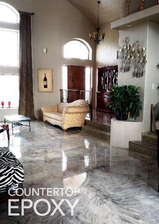 34 Best Metallic Epoxy Floors Images On Pinterest Cement