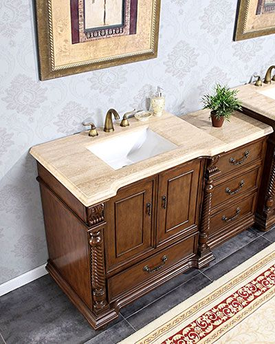 Picture Gallery For Website Silkroad Antique Modular Bathtoom Vanity Roman Vein Cut Top We can get two of