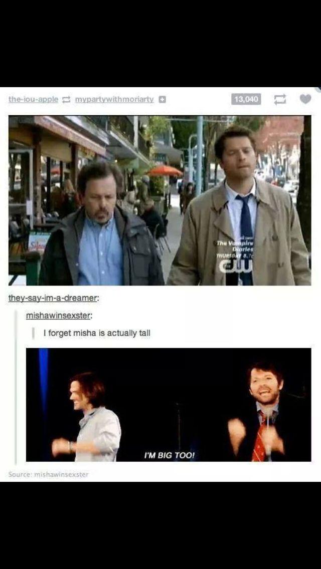 Oh Misha...