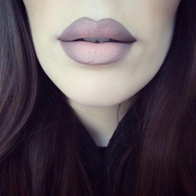stone lipliner and myth lipstick