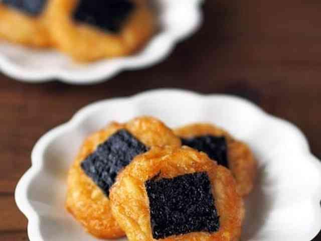 お弁当やおつまみにも♪里芋の磯辺餅★の画像