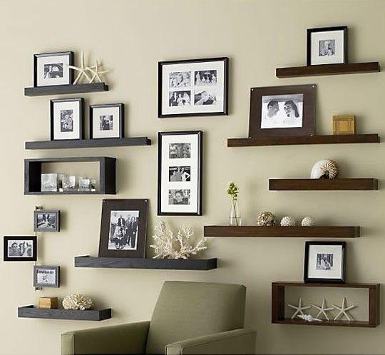 Amazing wall storage and decor
