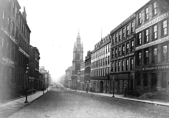 Buchanan Street, pre Stock Exchange, Glasgow