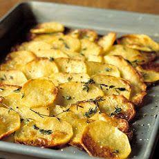 Baked Potato Slices Recipe
