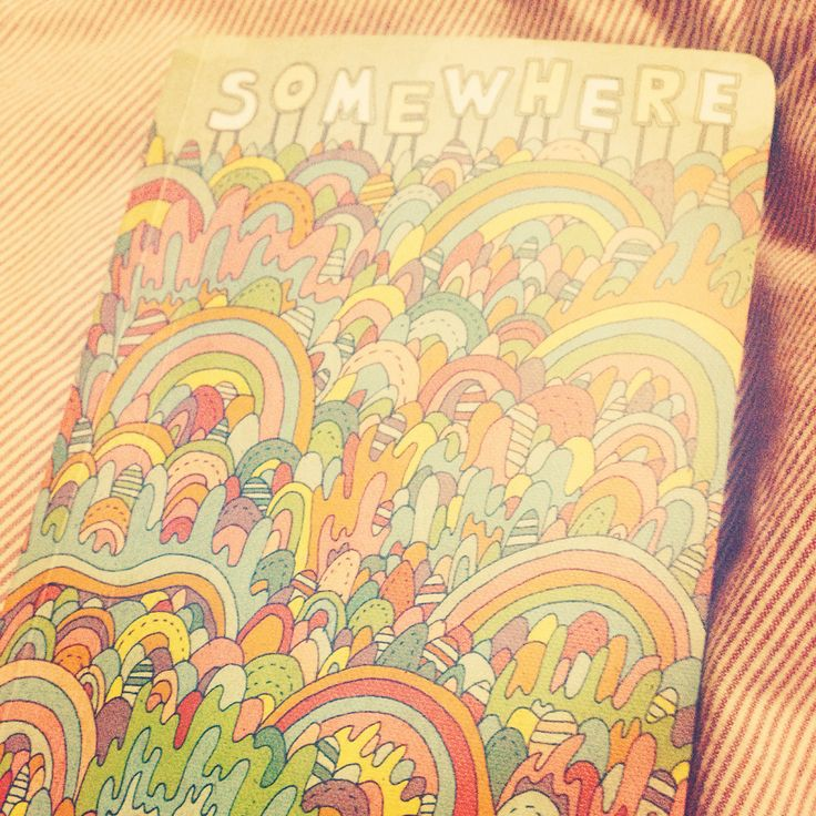 Found a cute little notepad illustrated by Nate Duval.