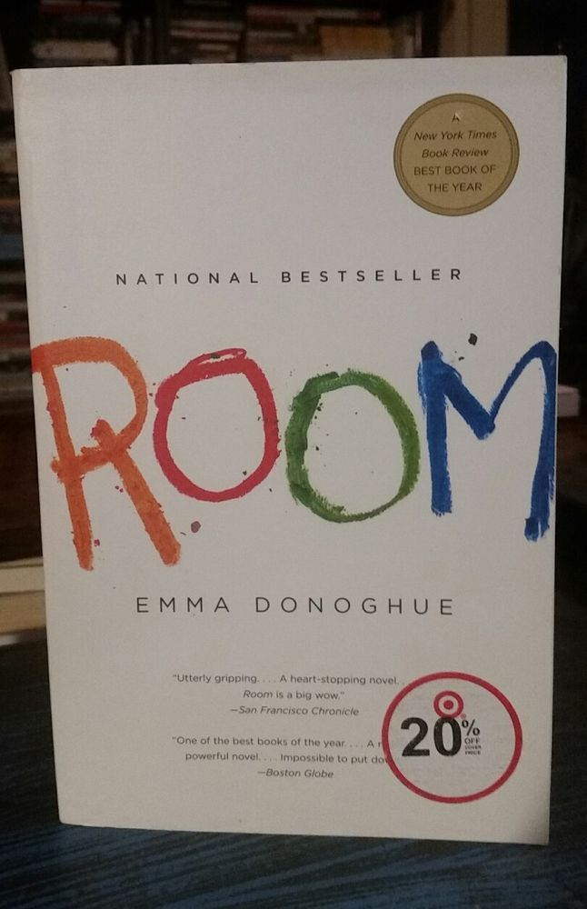 Room: A Novel  by Emma Donoghue  (Paperback 2011) Fiction/Thriller English