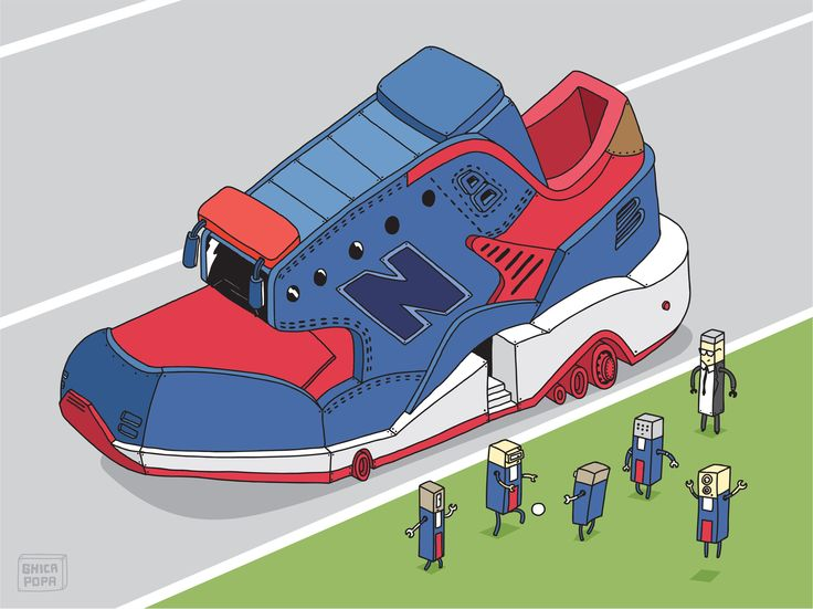 A few of Ghica's favorite New Balance collaborations interpreted in his own style.