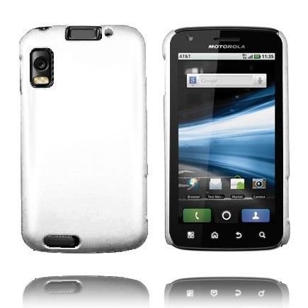 Hard Shell (Hvit) Motorola Atrix 4G Deksel