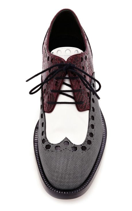 Classic menswear is always re-imagined for a new generation - updated wingtip from Alexander Wang.