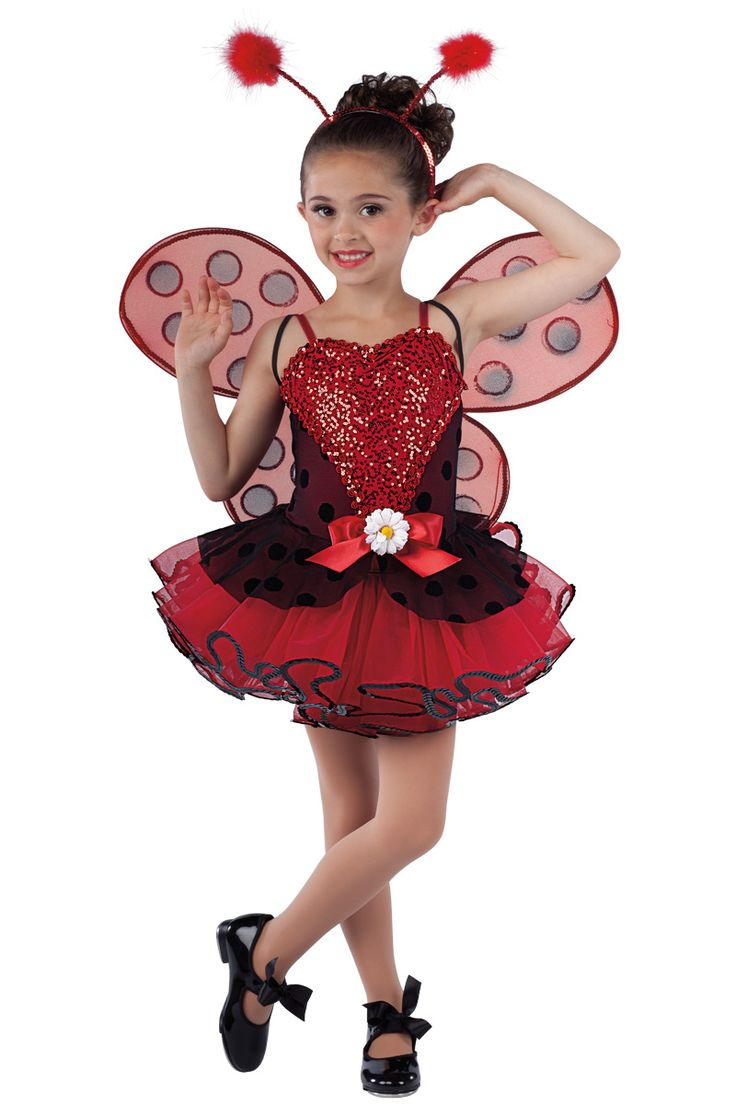 15543 Little Lady Bug | Novelty Dance Costumes | Dansco | Dance Fashion 2014 2015  | Pinterest Keywords: Lady Bug with Wings