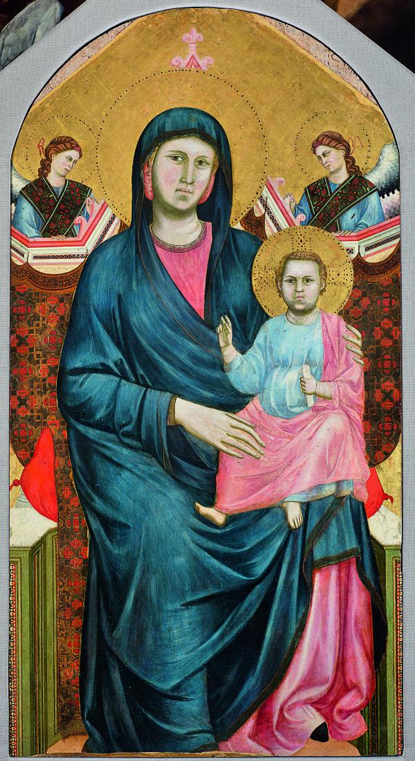 Giotto's Madonna from San Giorgio alla Costa