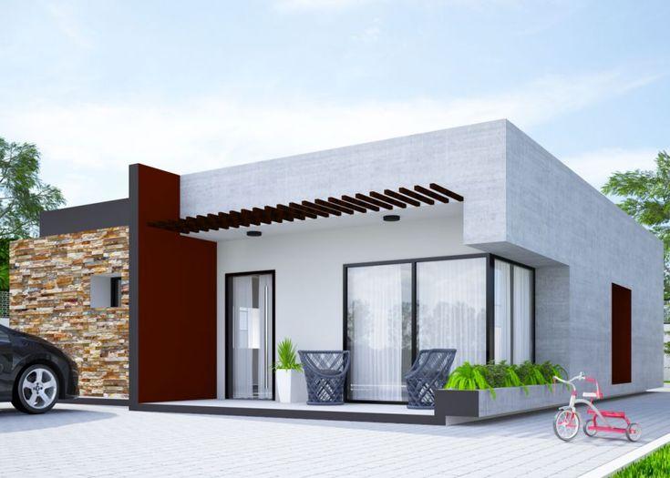 Proiecte de case mici cu doua dormitoare