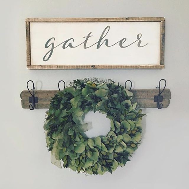 1510 best wood signs to make images on pinterest for Farmhouse dining room wall art