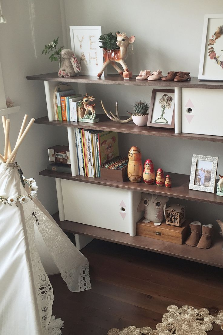Unique detachable side rail with dear kids letter idea feat cool - These Shelves Are Full Of Great Ideas For Kids Rooms