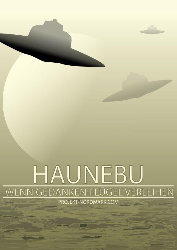 Haunebu - Gedanken - more from the Ministery of Propaganda #Haunebu #VRIL #poster