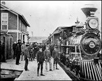The railroad reaches Medicine Hat.