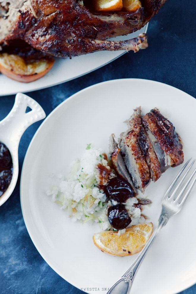 Kaczka w pomarańczach - Przepis na wielkanocny obiad od @Kwestia Smaku