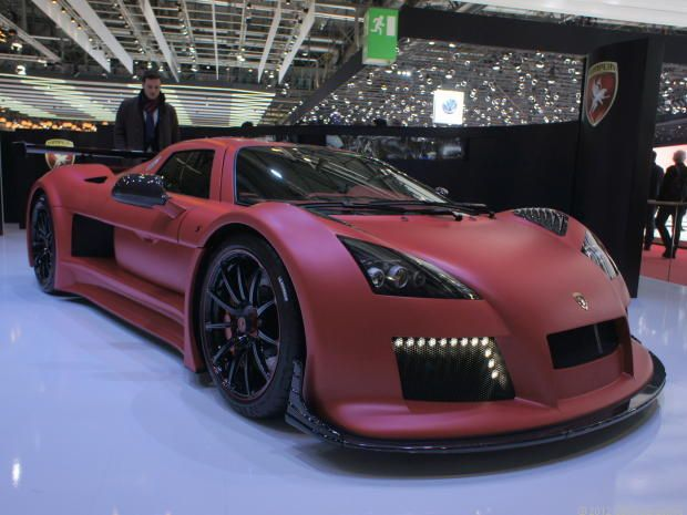 7th: Top speed: 225 mph: How does it do it? German maker Gumpert uses an Audi engine, a twin turbocharged 4.2-liter V-8 producing 640 horsepower, to power the Apollo. It's a true lightweight at only 2,600 pounds.