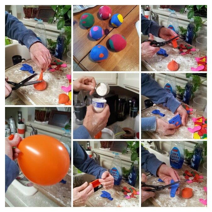 how to make stress balls out of balloons