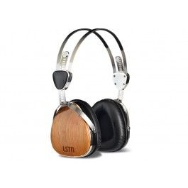 LSTN reclaimed wood headphones