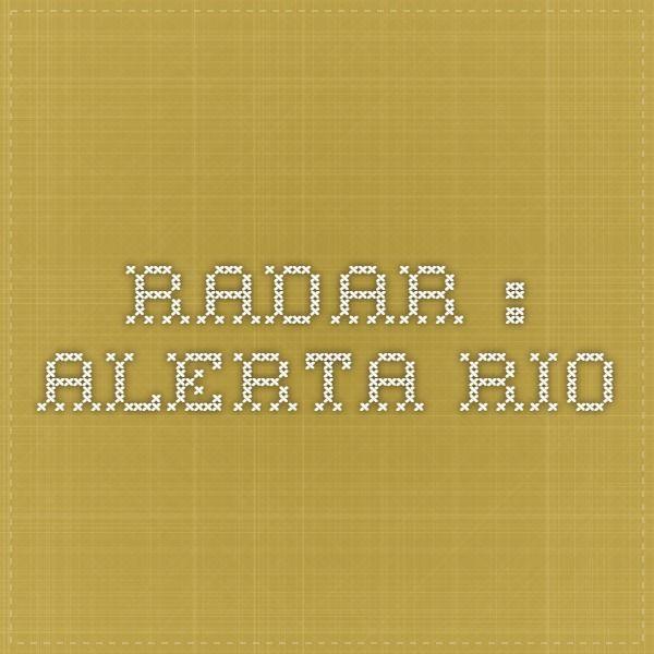 Radar : Alerta Rio