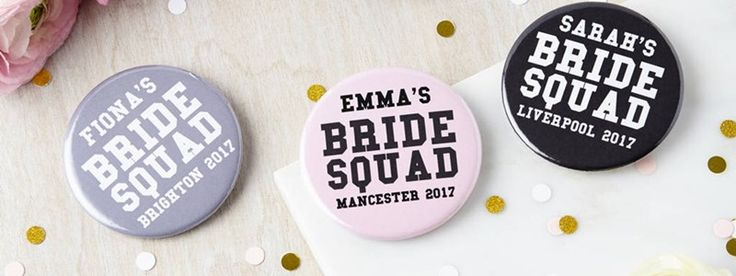 When else in your life will you be able to wear a bride sash with pride? We round up the best bride and bridesmaid accessories for your hen do