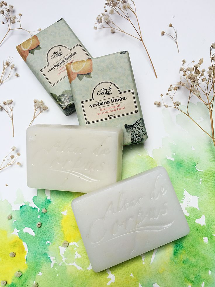 Jabones artesanales con manteca de Karite!!! #verbena #limon Natural handmade soaps!!