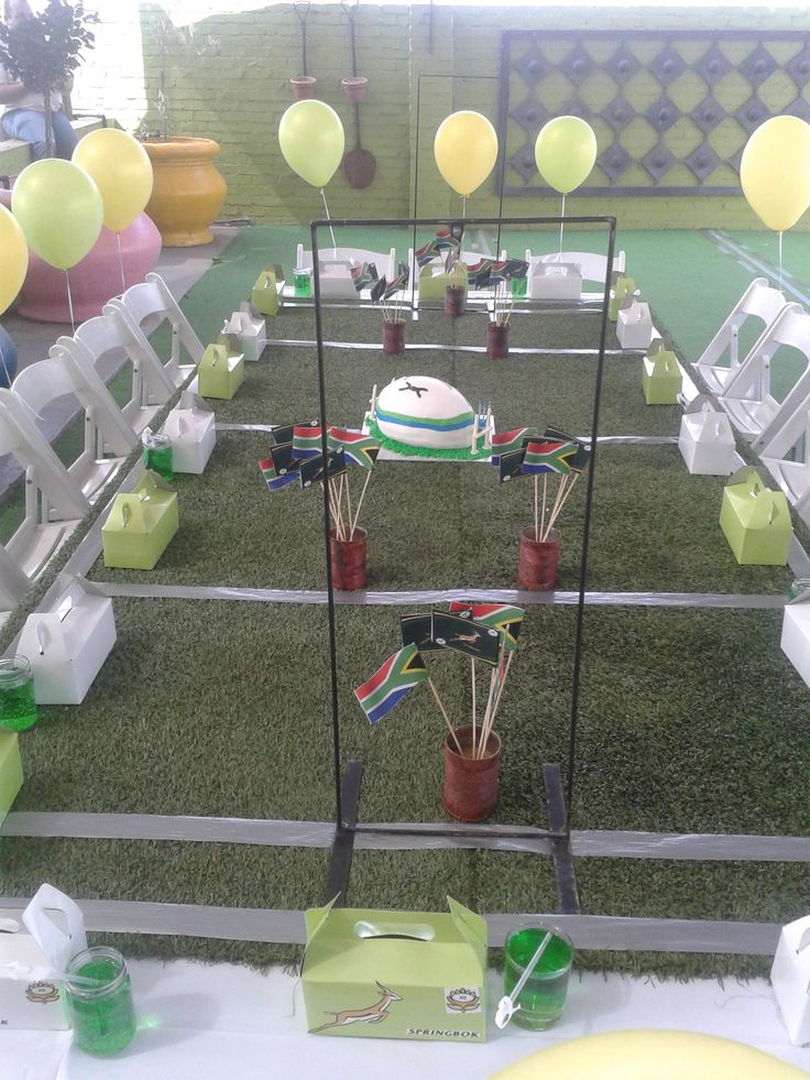 Let's play! Springbok Rugby Party
