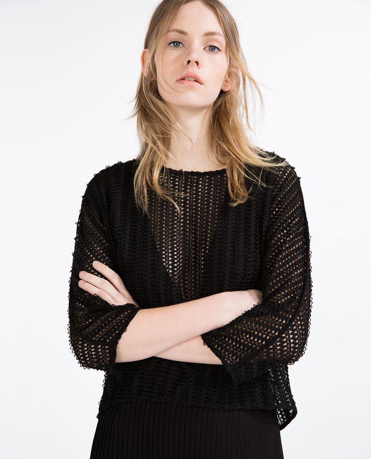 Zara MESH TOP image 2