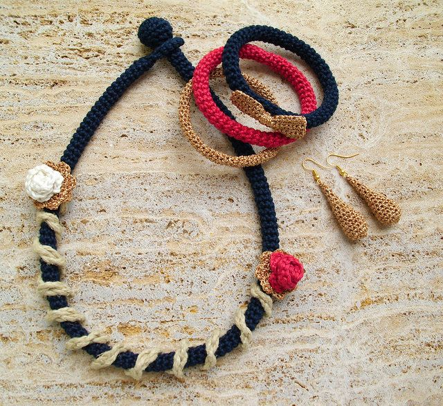 Jewelry set | Flickr - Photo Sharing!