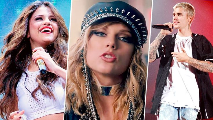 Famosos Cantando Canciones de Taylor Swift 🔵 (Selena Gomez, Justin Bieber, Fifth Harmony...)