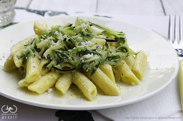 Carbonara di zucchine (nuova versione)