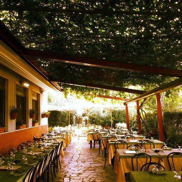 Ready to work!  #ristorante #restaurant #pizzeria #pizza #giardino #roma #tivoli #pergolato