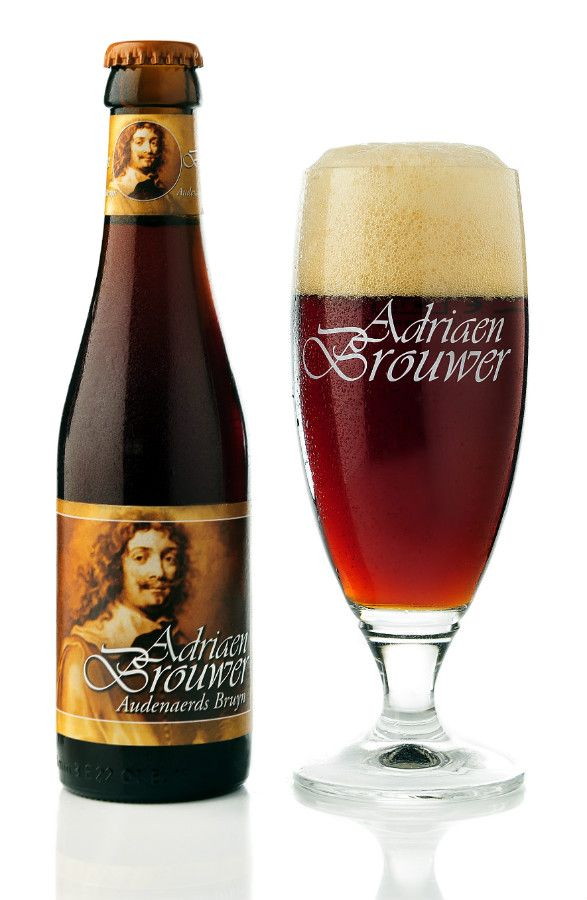 Adriaen Brouwer, an Oudenaards bruin beer of 5% ABV brewed by the Roman brewery and named after the famous 17th century painter Adriaen Brouwer. - BeerTourism.com