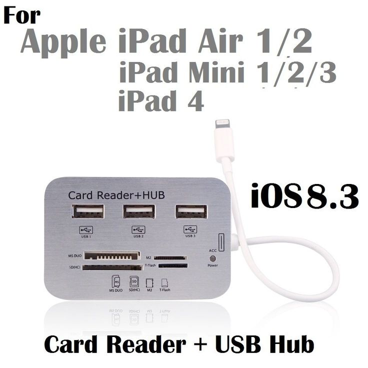 how to connect sd card to ipad 2