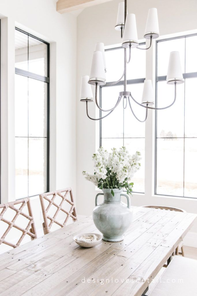 Design Loves Detail Spring Home Tour This Large Scale Dining Room