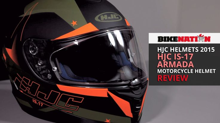 HJC Helmets 2015 - HJC IS-17 - Armada - Review. Re-Pin, Share, Comment, Like, Spread. Thanks!