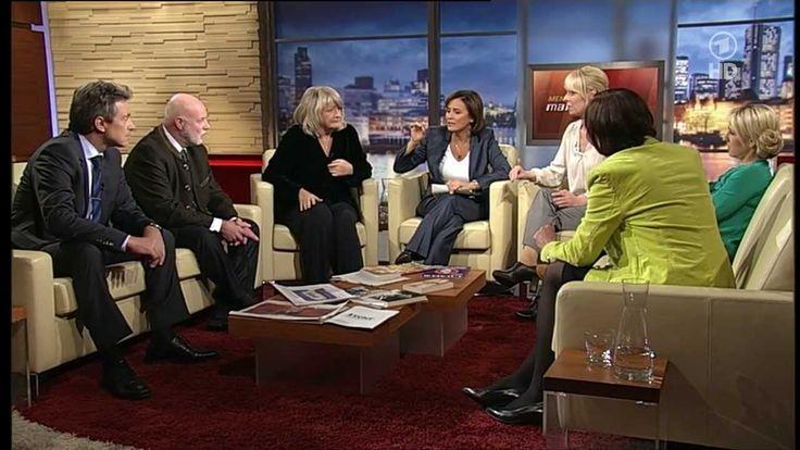 """mvg Autorin Jana Koch-Krawczak stellt ihr Buch bei Menschen bei Maischberger vor - 26.11.2013: """"Schluss mit käuflichem Sex: Kann man Prostit..."""