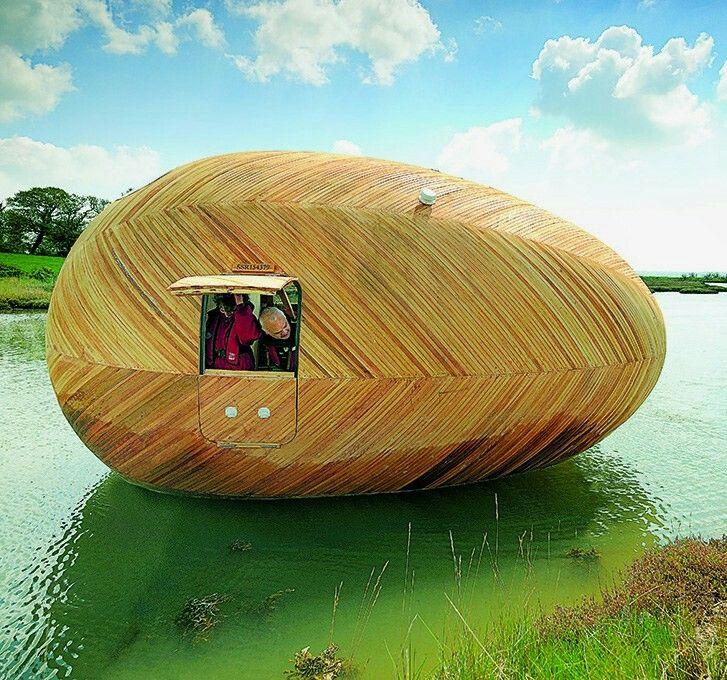 Exbury Egg / PAD studio + SPUD Group + Stephen Turner