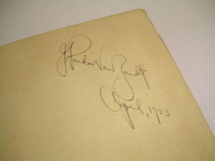 SIGNED J Parker Van Zandt SENSE OF BEAUTY George Santayana AESTHETIC THEORY 1923