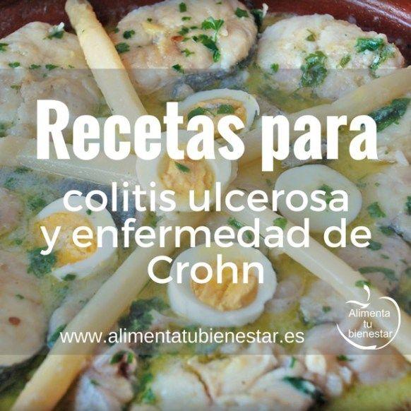 Recetas para la colitis ulcerosa y enfermedad de Crohn