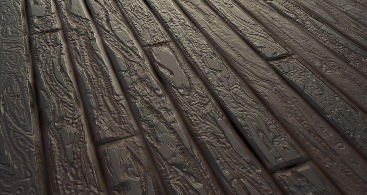 Stylized Wood Floor Designer Practice, Geo Lee on ArtStation at…