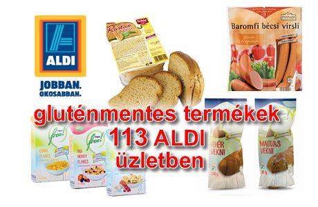 Gluténmentes élelmiszerek az ALDI mind a 113 üzletében Speciális élelmiszerek az ALDI kínálatában A laktóz- és gluténmentes élelmiszerek az ALDI mind a 113 áruházában elérhetőek – speciális étrend sem probléma.