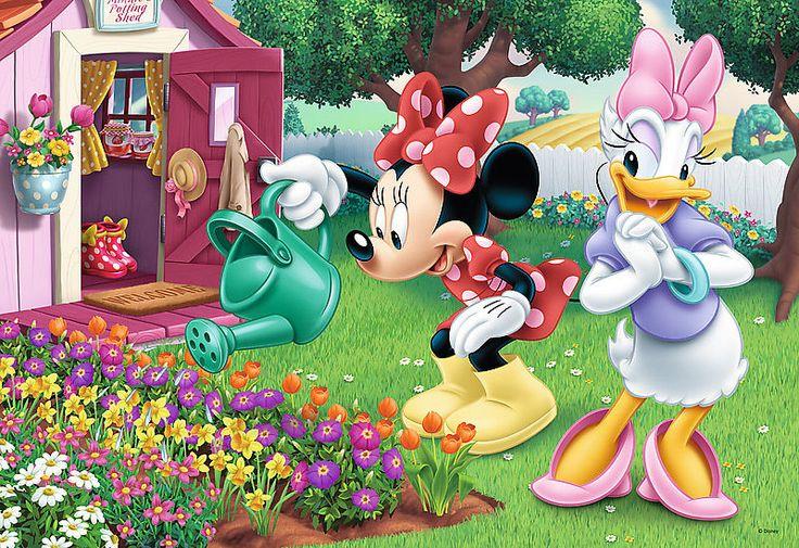 Trefl Puzzle 160 Teile Disney: Minnie Mouse beim Blumengießen (15328) Daisy in Spielzeug, Puzzles & Geduldspiele, Puzzles | eBay
