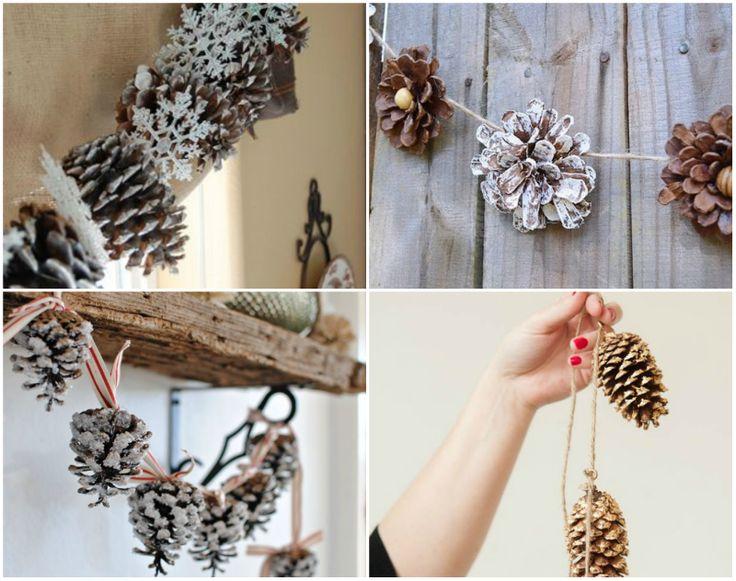 """Šišky sú prírodným materiálom, pre ktorý môžete nájsť veľa využití. Ideálne sa hodia na rôzne """"Urob si sám"""" projekty, ktoré vám ušetria peniaze a pokiaľ sa rozhodnete vyrobiť si z nich vianočné ozdoby..."""