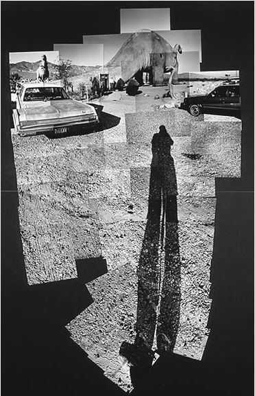 Another Example of Hockney's photo collages.Prehistoric Museum Near Palm Springs, 1982. Fotografía de David Hockney