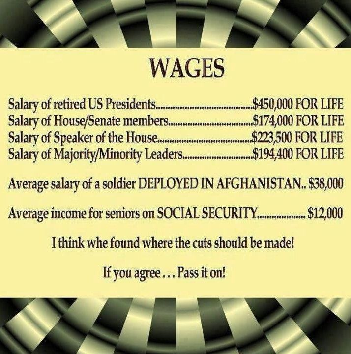 Something is VERY wrong with this picture... What other job continues your salary WHEN YOU NO LONGER HOLD IT???? That is INSANITY. Why do we allow this to continue??