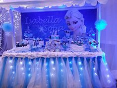 centros de mesa de frozen disney - Google Search